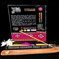 Tribal Soul vīraku kociņi BALTĀ SALVIJA + LAVANDA 15g