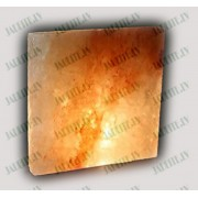 200x200x2.5 cm Himalaju sāls flīze - slīpēta (x1)