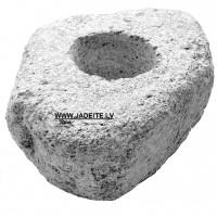 Ēterisko eļļu iztvaicēšanas trauks - dabīgais akmens (x1)