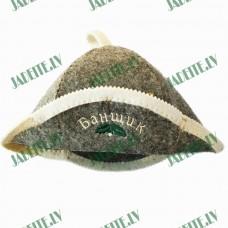 """Pirts cepure """"Банщик"""", pelēka (x1)"""