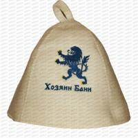 "Pirts cepure ""Хозяин бани"", balta (x1)"