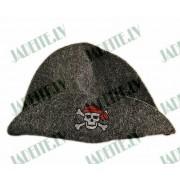 "Pirts cepure ""Pirāts"", pelēka (x1)"