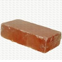 5cm Himalaju sāls ķieģelis - slīpēts ( 1 m2 )