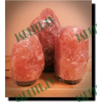 Himalaju sāls lampa, dabīga 1.5-2 kg (x1)