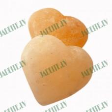 100% īstas Himalaju sāls akmens ziepes Sirds (x1)