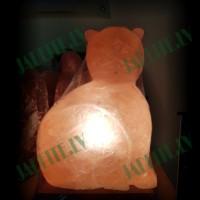 Himalaju sāls lampa Kaķis 3-4 kg
