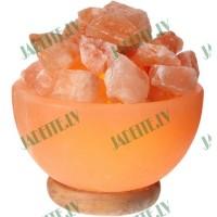 Himalaju sāls lampa Uguns bļoda 3-4 kg