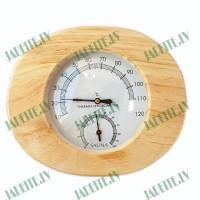 Higrometrs - Termometrs pirtīm ovāls (x1)
