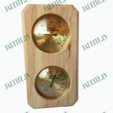 Higrometrs - Termometrs pirtīm un saunām (x1)