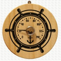 "Termometrs pirtīm ""Kuģa stūre"" (x1)"